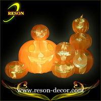 Halloween outdoor pumpkins decorative white