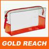 2014 Customized PVC Bag With Zipper Transparent PVC Bag