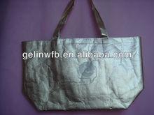 shiny laminated nonwoven bag