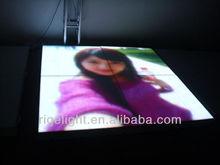 16mm full color indoor led video dance floor big project