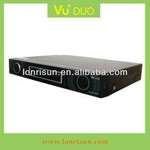Hottest VU+DUO Linux Enigma2 satellite receiver support double CI slot