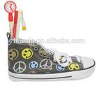 stylish school pencil bags sneaker shoe pencil case for girls