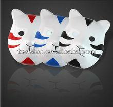Plástico Cosplay del traje del anime Naruto máscara de la máscara