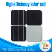 "2013 High Efficiency A grade 156mm x156mm 6"" 2BB/3BB 6 inch mono Solar Cell"