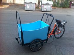Shimano 7 speed Cargo E-bike