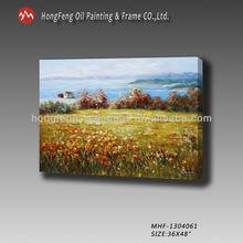 emoldurado telas pintadas paisagem