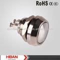 Ce ROHS Screw Terminal botão interruptor de contato de prata