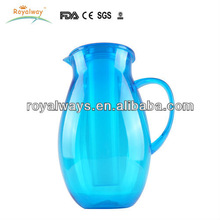 high quality BPA free PS cheap plastic water pitcher