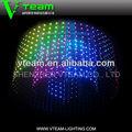 Super brillante a todo color flexible de pantalla LED de cortina transparente para decoración de la navidad P35 / 55 / 80 / 110 / 160 / xxx fotos