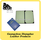 Cheap Price A4 File Paper Certificate Holders in Quality Leather