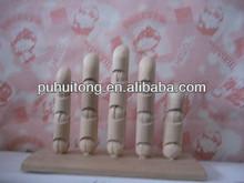 wood hand finger
