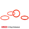 Different type high flexible mini red small rubber o ring