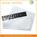 Blanco de plástico de documentos bolsas / blanco bolsas de plástico de correo