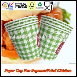 Popcorn Packaging Cup /Fried Chicken Popcorn Paper Bucket