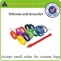 Custom usb flash drive cover, silicone usb bracelet