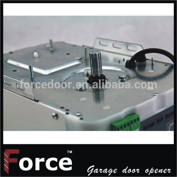 Rolling Code sectional garage door opener