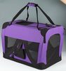 New colorful kennel dog bag, pet carrier crate