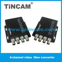20km 4 channel single fiber digital video transmission