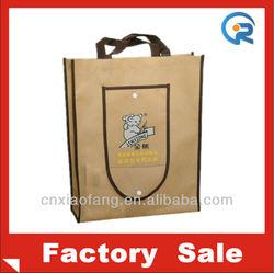 Shopping bag/non woven shopping bag/Folding shopping bag with button