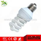 Full spiral energy saving lamp 2700k cfl bulbs