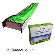 A205 hot sale Golf wooden putting mat/cheap/ high quality