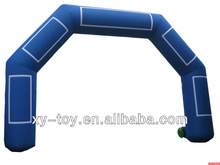 inflatable archway, inflatable arch with velcro logo banners, advertising inflatable arch