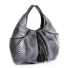 Ladies Genuine Python Snake Skin Hobo bag Handbag Real Leather Handmade