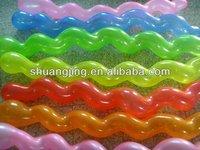 Free sample cheap latex screw balloon