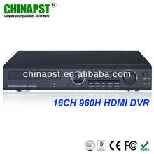 16CH Real Time 3G Network/Mobile View/FTP/TV Adjust/Email Function DVR Surveillance Software PST-DVR716H