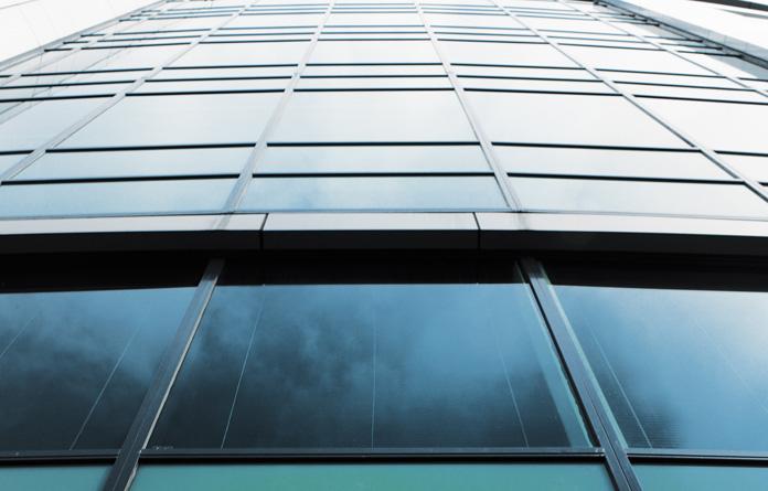 Hidden Frame Glass Aluminum Curtain Wall