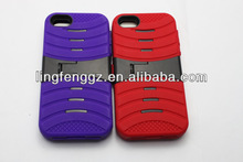 wholesale and cheap robot 2 in 1 shockproof mobile phone case for iphone 5g/5s