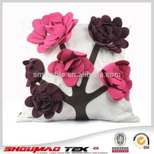 fashion design cotton canvas cushion cover for sale
