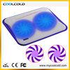 usb power metal mesh two cooler fans notebook cooling pad, 5v usb laptop cooler pad