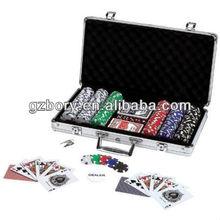 Maxam(TM) 309pc Poker Chip Set in Aluminum Case Maxam(TM) 309pc Poker Chip Set in Aluminum Case