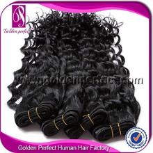 Hot Sale Unprocessed Human Hair Weavon 100% Virgin Peruvian Hair