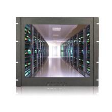 "19"" LED Rack Mount Monitor/ Resistive Touch/ 1280x1024/ RGB/ DVI/ DC12V"