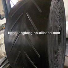 Chevron Conveyor Belt/V Chevron belting Cleats and mono block molding for strength