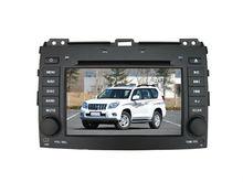 "Digital touch screen 2 din 7"" Auto dvd player for Toyota Prado"
