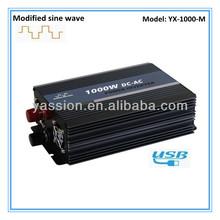 1000w 24v dc to ac 220v inverter small modified sine wave
