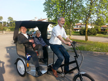 Chinese high quality commercial tricycles for passengers