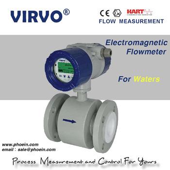high accuracy smart type water flow meter/electromagnetic flow meter