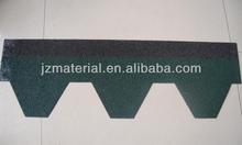 Colorful Hexagonal/Mosaic/Rhombic Fiberglass Asphalt Roofing Shingles /Bitumen roofing shingles with CE, ISO9000, ROHS, EUP