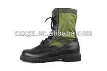 China XINXING lona de borracha superior único militar do exército botas de couro genuíno