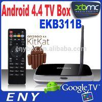 RK3188 Quad Core Cortex A9 Google Android TV Box Wireless Bluetooth USB RJ45 HDMI CS918 Internet Smart TV Box
