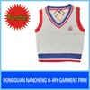 2013 fashion uniform vests baby boy child sweater