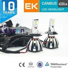 2014 New Hight lumen H7 H4 LED headlight kit Canbus LUMILED Car LED headlight