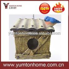 Polyresin Lovely & creative hanging bird house