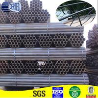 Black ERW Handrails Steel Pipe Dimensions