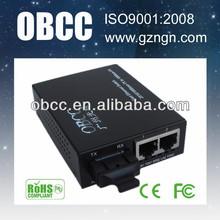 10/100M fiber optical network switcher external power