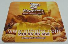 Promotional cartonboard coasters | Customized cartonboard coasters | Printed with logo cartonboard coasters